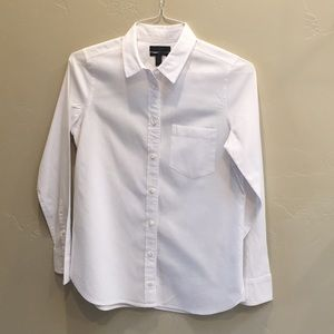 J.crew boy shirt in cotton-tencel oxford